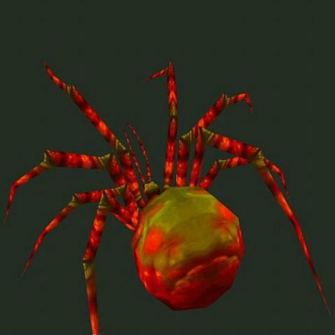 Nhện đỏ (Huyết tri chu - 血蜘蛛)